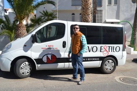 Cristóbal Carvajal, gerente de Nuevo Estilo Reformas en Almería